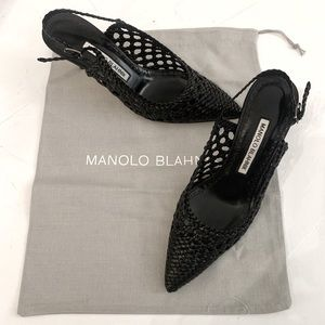 Brand New! Manolo Blahnik with dust bag & box -